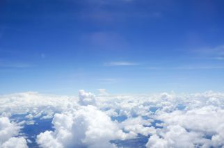 41973256 - sky and cloud view on the plane